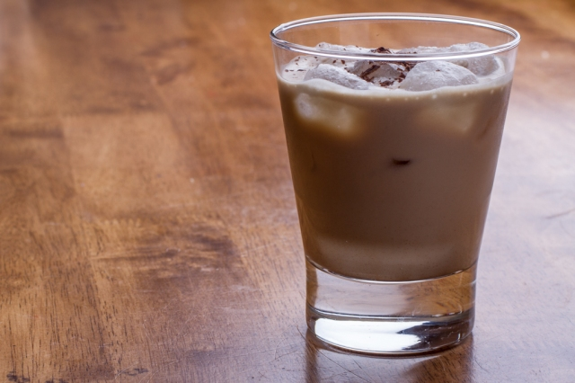 Virgin Mudslide. Takes a bit of work to get the genuine taste, but results are worth it.