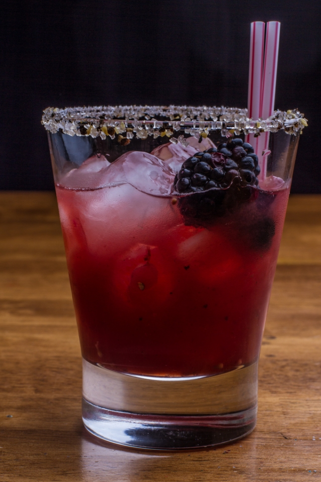 Black Pepper Syrup gives quite a kick to this virgin cocktail.