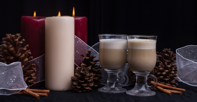 Pumpkin Chai lattee: Curl up with this on a cold winter day or serve to guests at a holiday soiree.